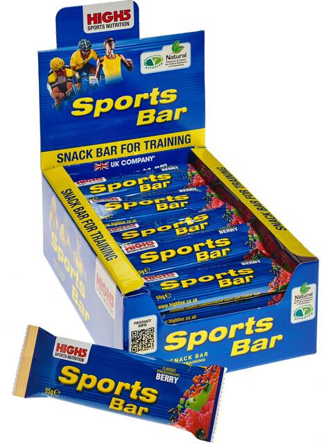 High5 SportBar Riegel Box Red Fruits 25 x 55g